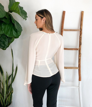 Sofie Top - Cream