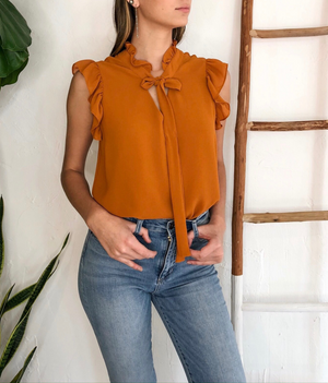 Jenni Top in Ginger