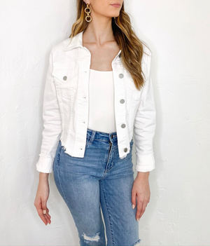 Penny Jacket in White