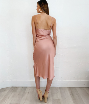 Zelda Dress in Blush