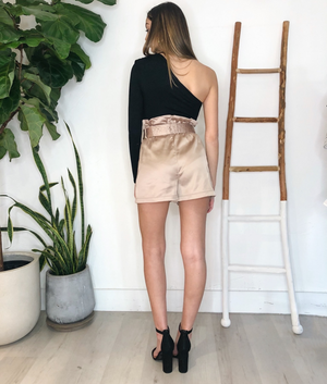 Nico Shorts in Champagne