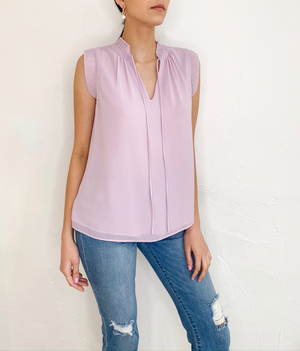 Fifi Blouse in Lavender