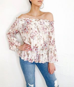 Maggie Top in Rose