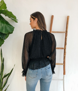 Anine Top in Black