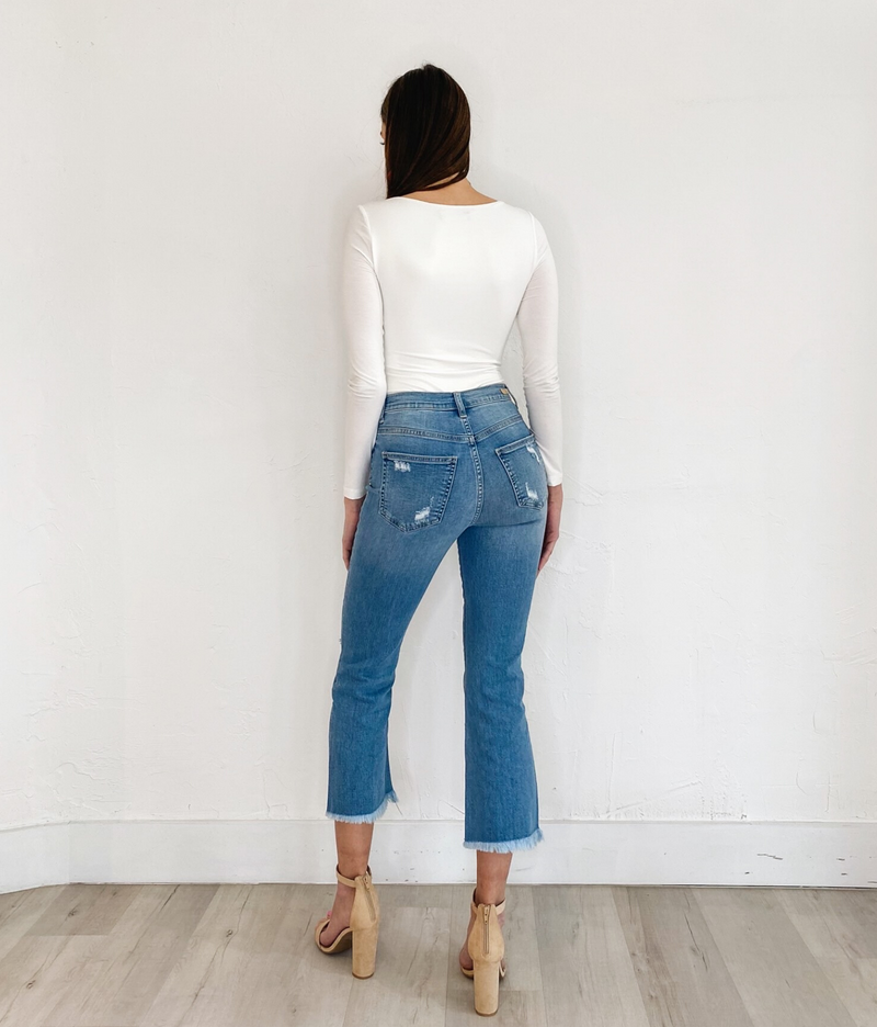 Candice Jeans in Blue Wash