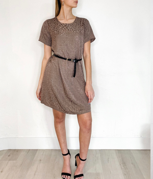 Eloise Dress in Taupe