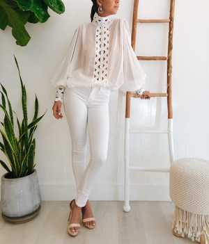 Capri Top in White