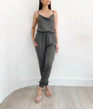 Lois Jumpsuit in Grey