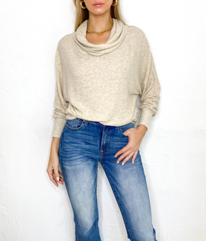 Mathis Sweater in Oatmeal