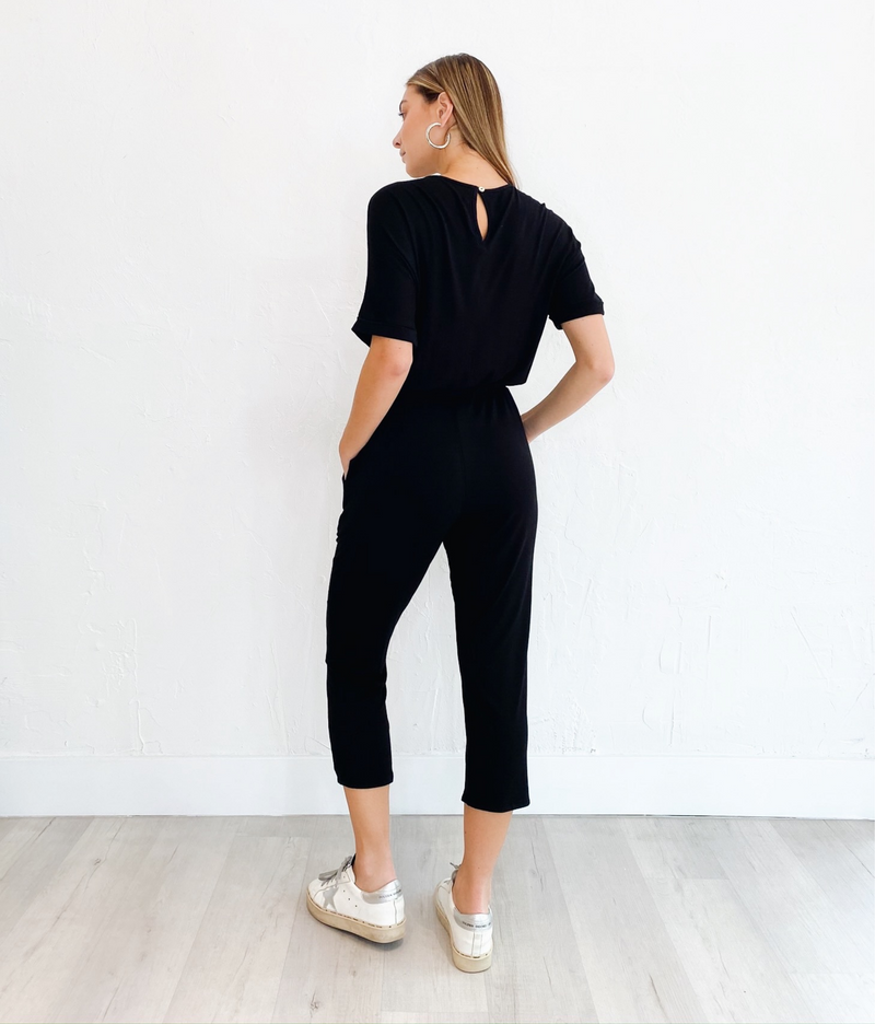 Adrianna Jumpsuit in Black