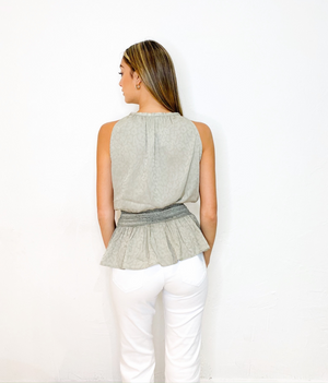 Nolan Top in Taupe