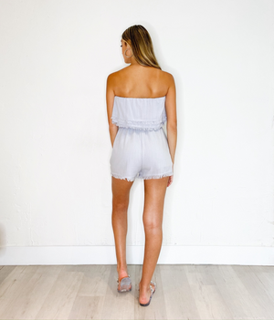 Annete Romper in Baby Blue