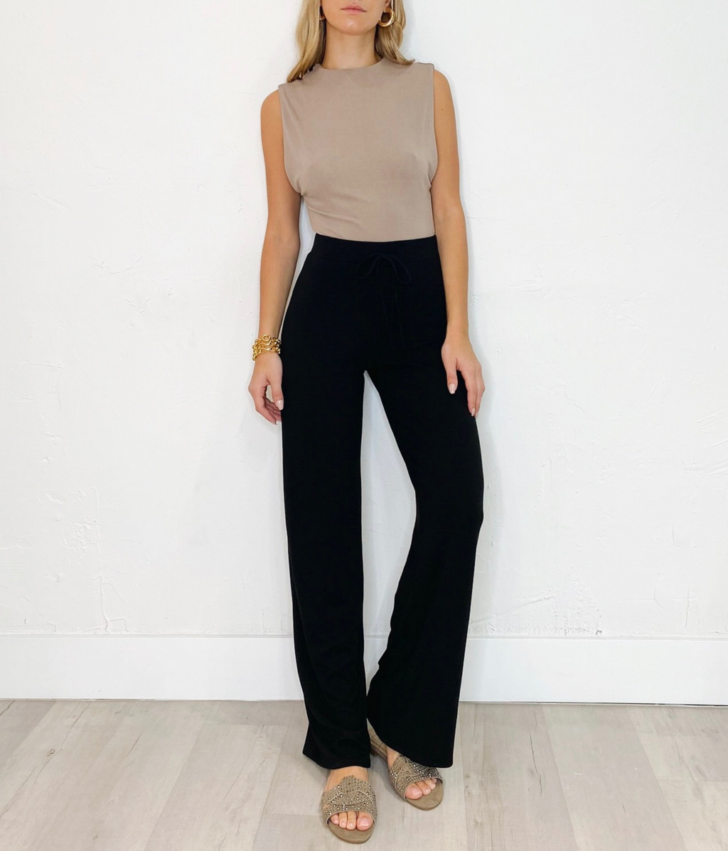 Solomon Pants in Black