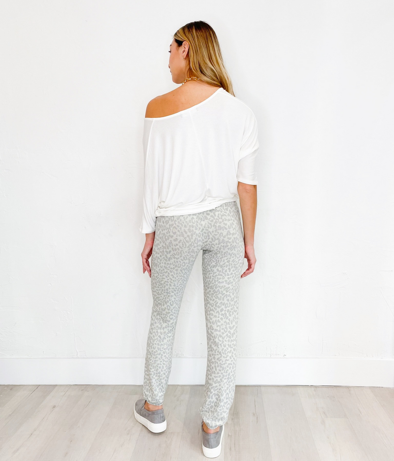 Lola Sweat Pants in Taupe