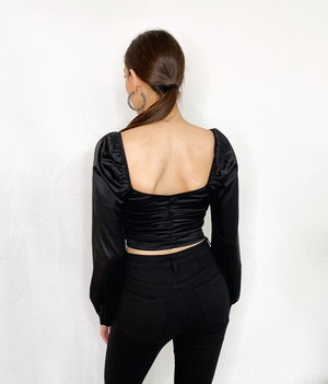 Janielle Top in Black