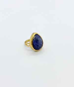 Azul Teardrop Ring