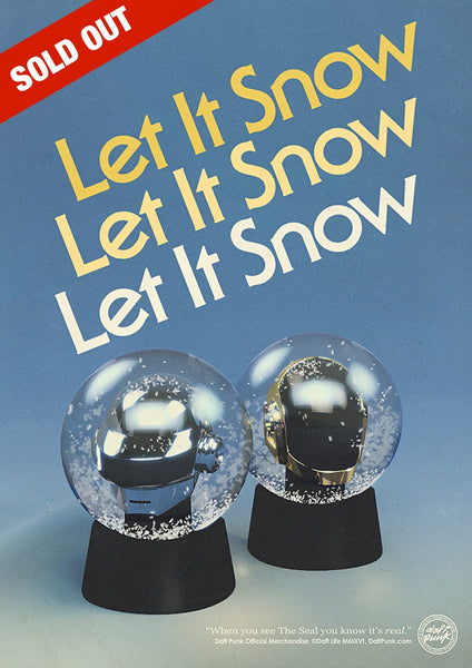 Daft Punk Limited Edition Classic Helmet Snow Globes