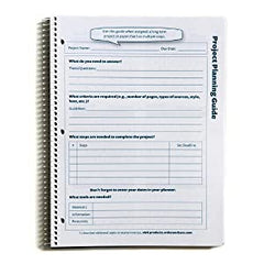 student academic planner project planning guide