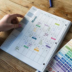 Monthly Calendars and Note Pages Help With Long-Range Planning!