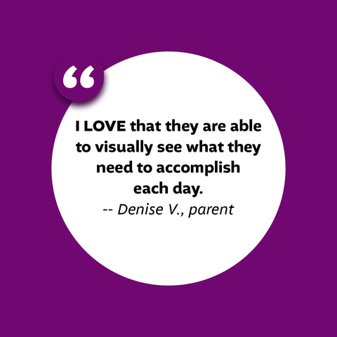 what parents are saying about the academic planner: a tool for time management