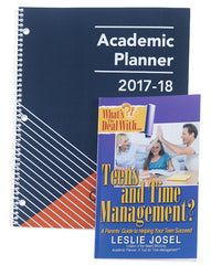 personal-size planner and time management book