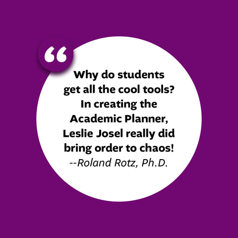 what professionals are saying about the academic planner: a tool for time management