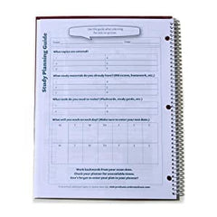student academic planner study planning guide