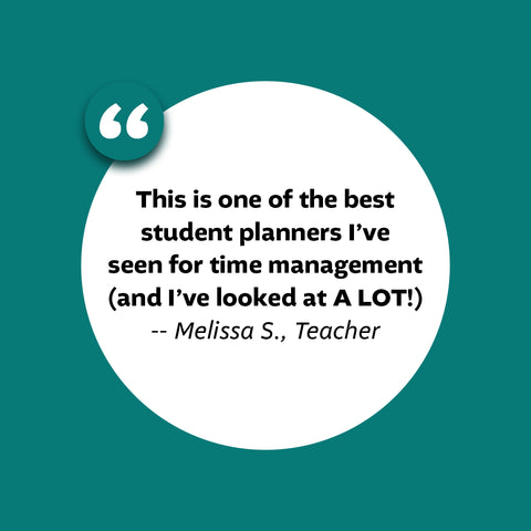 what teachers are saying about the Academic Planner: A Tool For Time Management®
