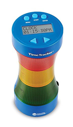 Learning Resources Time Tracker Visual Timer & Clock