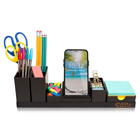 Desk Organizer with Adjustable Compartments