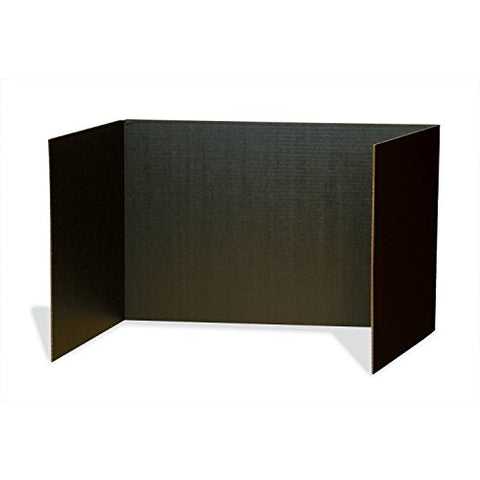 "Pacon Privacy Boards, Black, 48"" x 16"", 4 Boards"