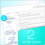 TOPS FocusNotes Note Taking System 1-Subject Notebook, 11 x 9 Inches