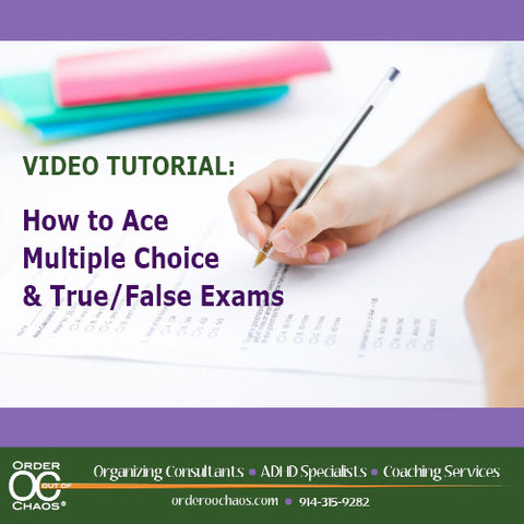 VIDEO DOWNLOAD: How to Ace Multiple Choice & True/False Exams