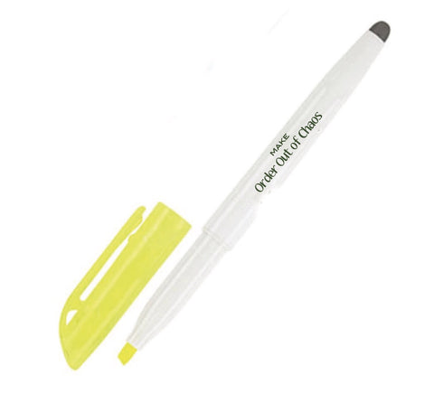 Order Out of Chaos® Erasable Highlighter
