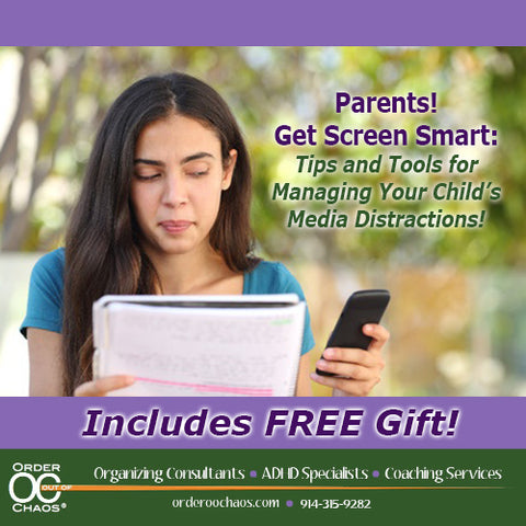 VIDEO DOWNLOAD: Parents! Get Screen Smart - Tips and Tools for Managing Your Child's Media Distractions - INCLUDES FREE GIFT!