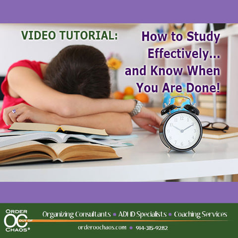 VIDEO DOWNLOAD: How To Study Effectively...And Know When You Are Done!