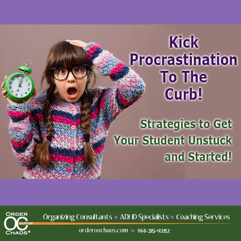 VIDEO DOWNLOAD: Kick Procrastination to the Curb! Strategies to Get Your Student Unstuck and Started