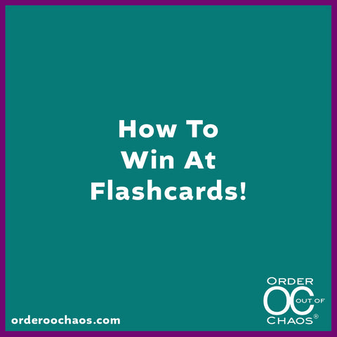ONLINE VIDEO: How To Win At Flashcards!