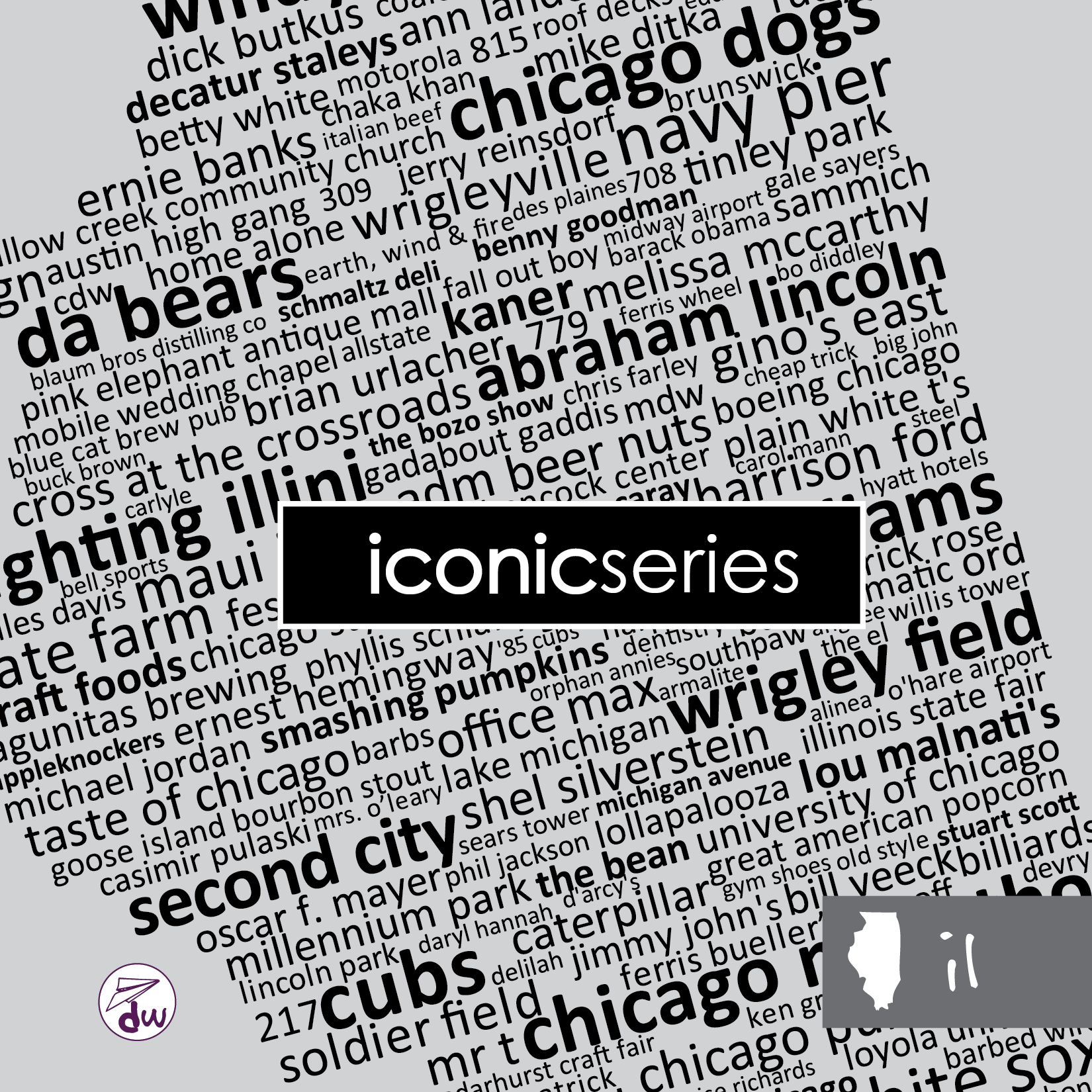 IL | Black & Gray - Share Pack (Iconic)