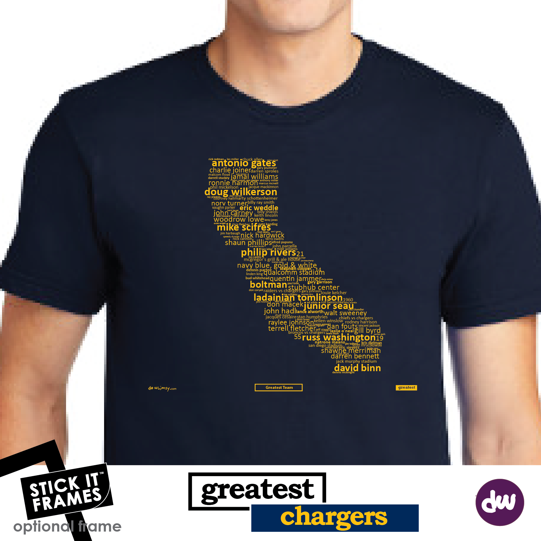 Greatest California (Chargers) - All Products (Shirt, Art, Frames (R))