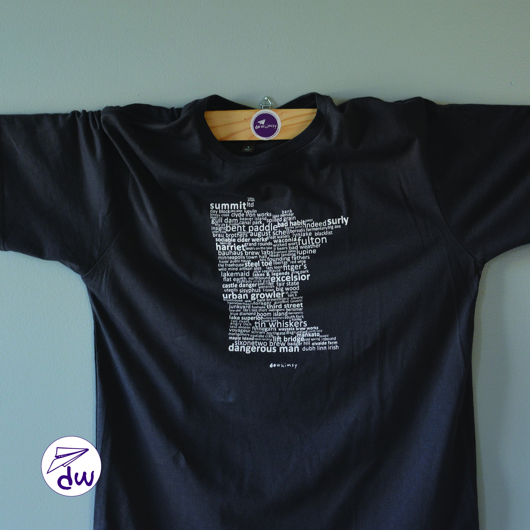 Brewed In Mn Unisex Soft Touch Shirt Do Whimsy Timeless Art
