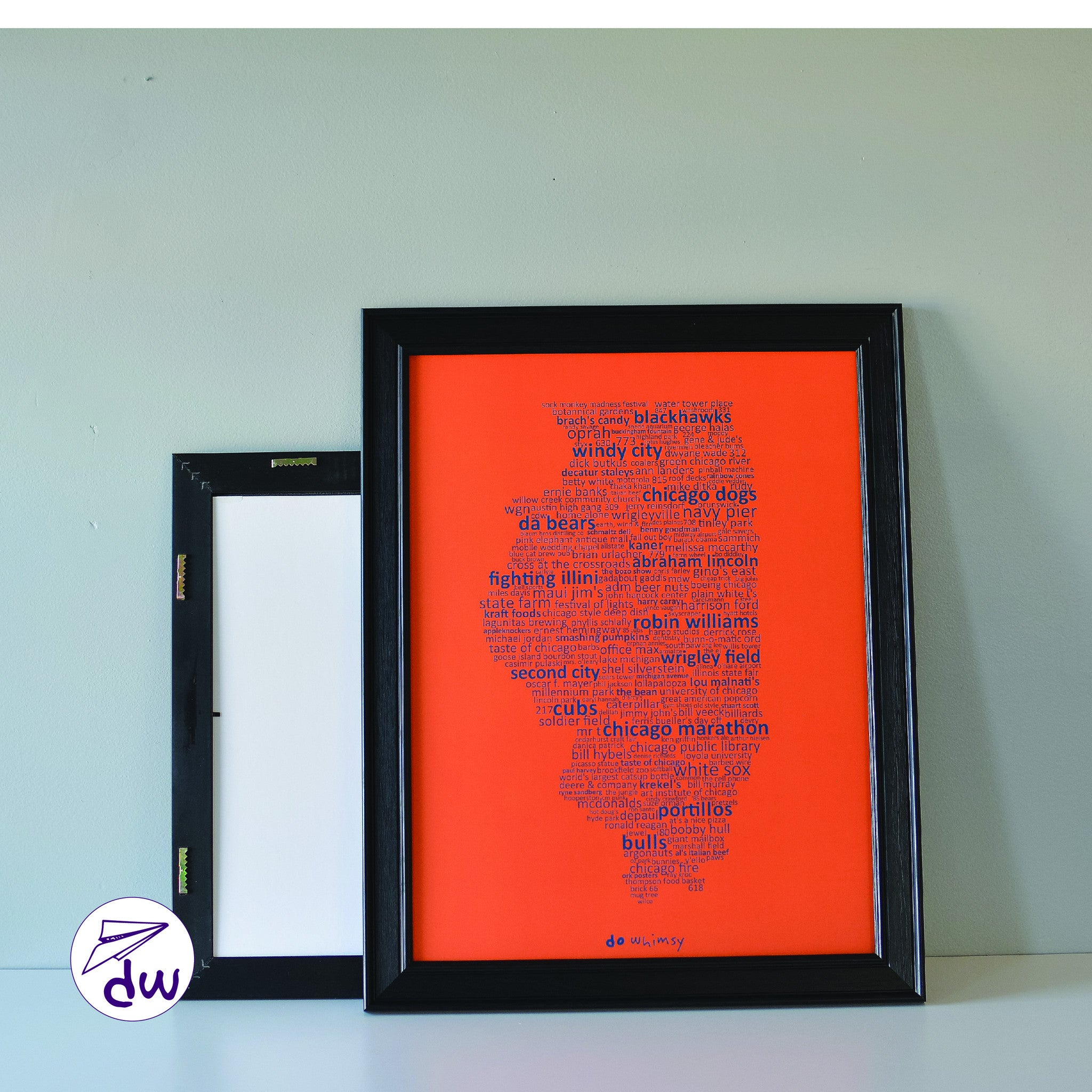IL | Blue & Orange - Prints & Framed Prints