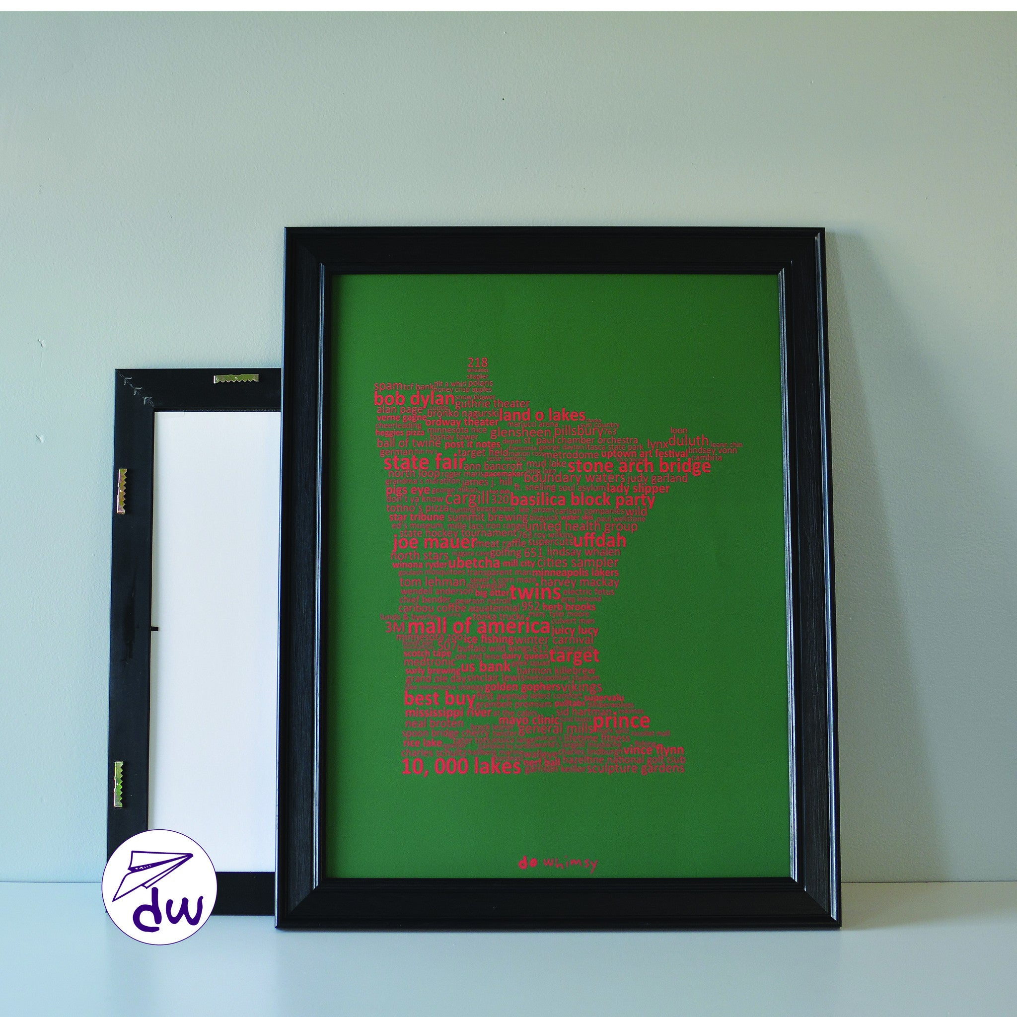 MN | Red & Green - Prints & Framed Prints