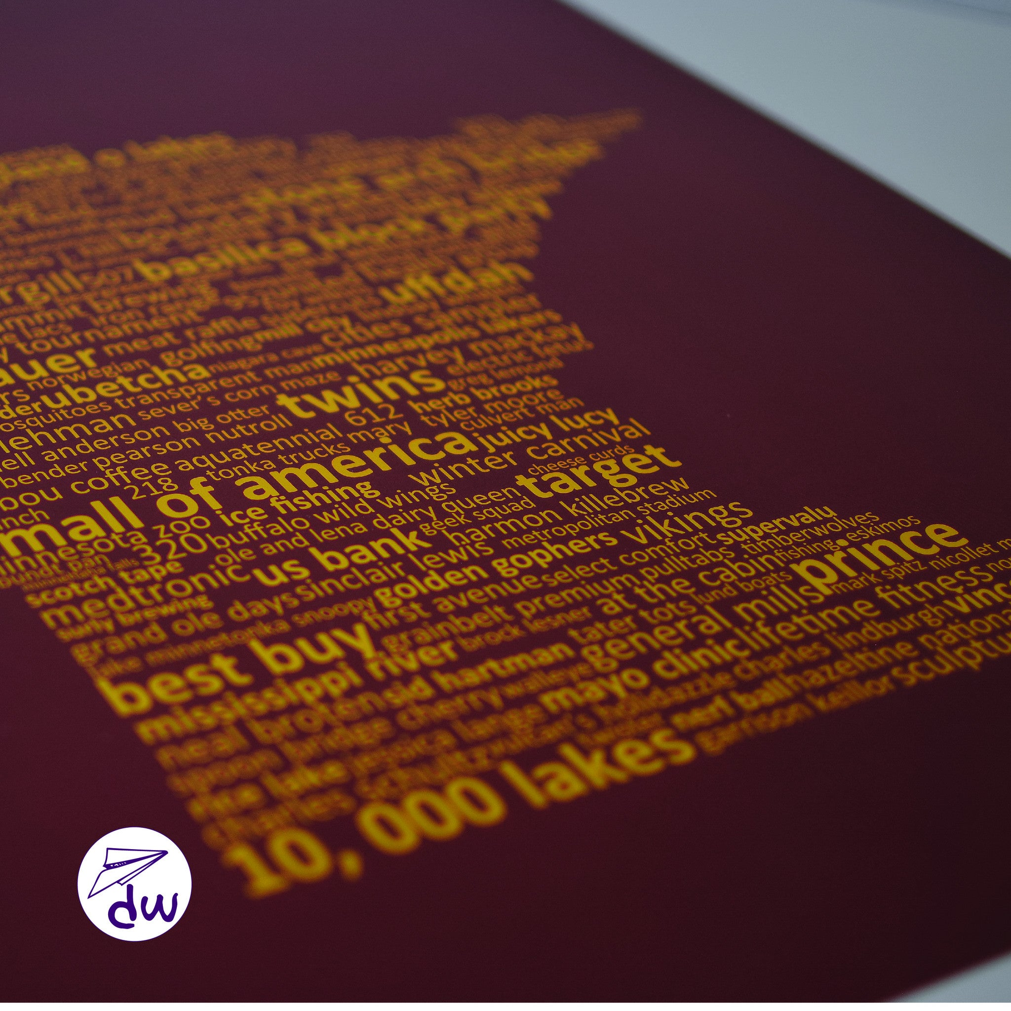 MN | Gold & Maroon - All Products