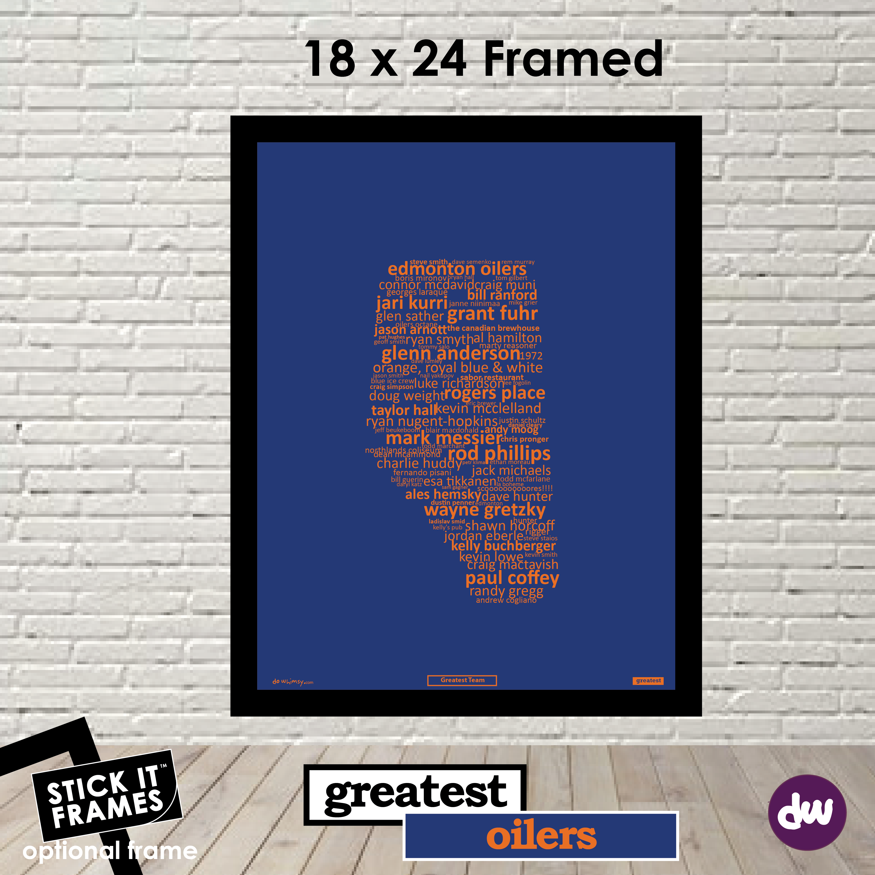 Greatest Edmonton (Oilers) - All Products (Shirt, Art, Frames (R))