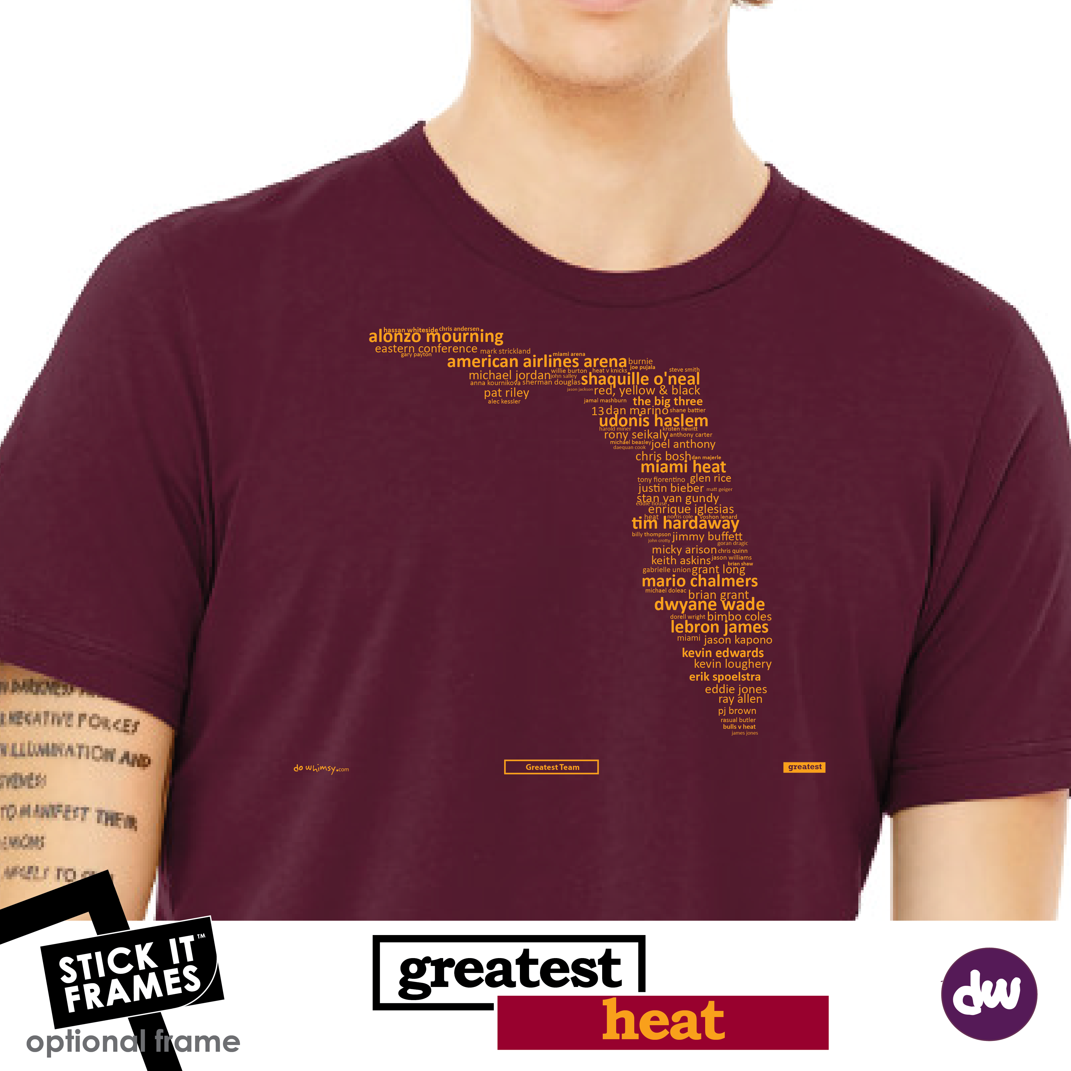Greatest Florida (Heat) - All Products (Shirt, Art, Frames (R))