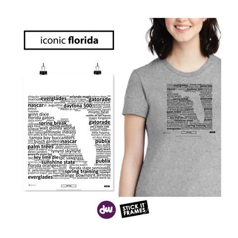 Iconic Florida - All Products (Shirt, Art, Frames (R))