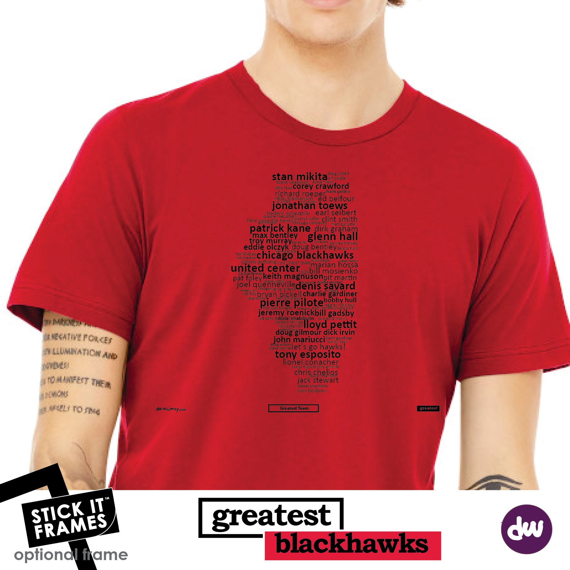 Greatest Illinois (Blackhawks) - All Products (Shirt, Art, Frames (R))