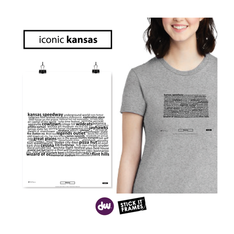 Iconic Kansas - All Products (Shirt, Art, Frames (R))