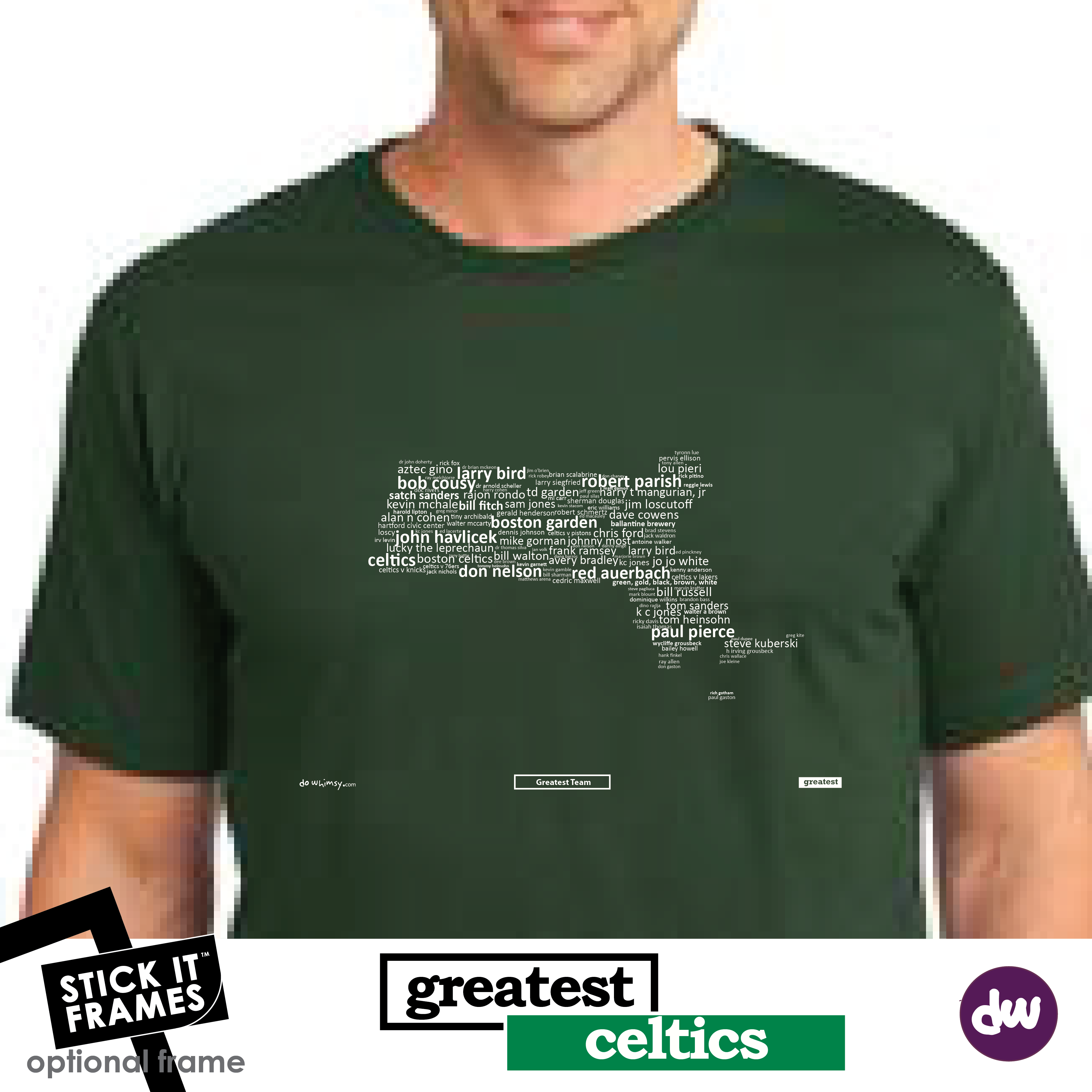Greatest Massachusetts (Celtics) - All Products (Shirt, Art, Frames (R))